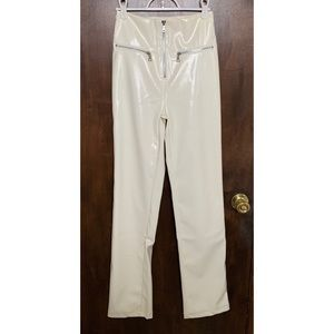 White Leather I.AM.GIA Pepper Pants
